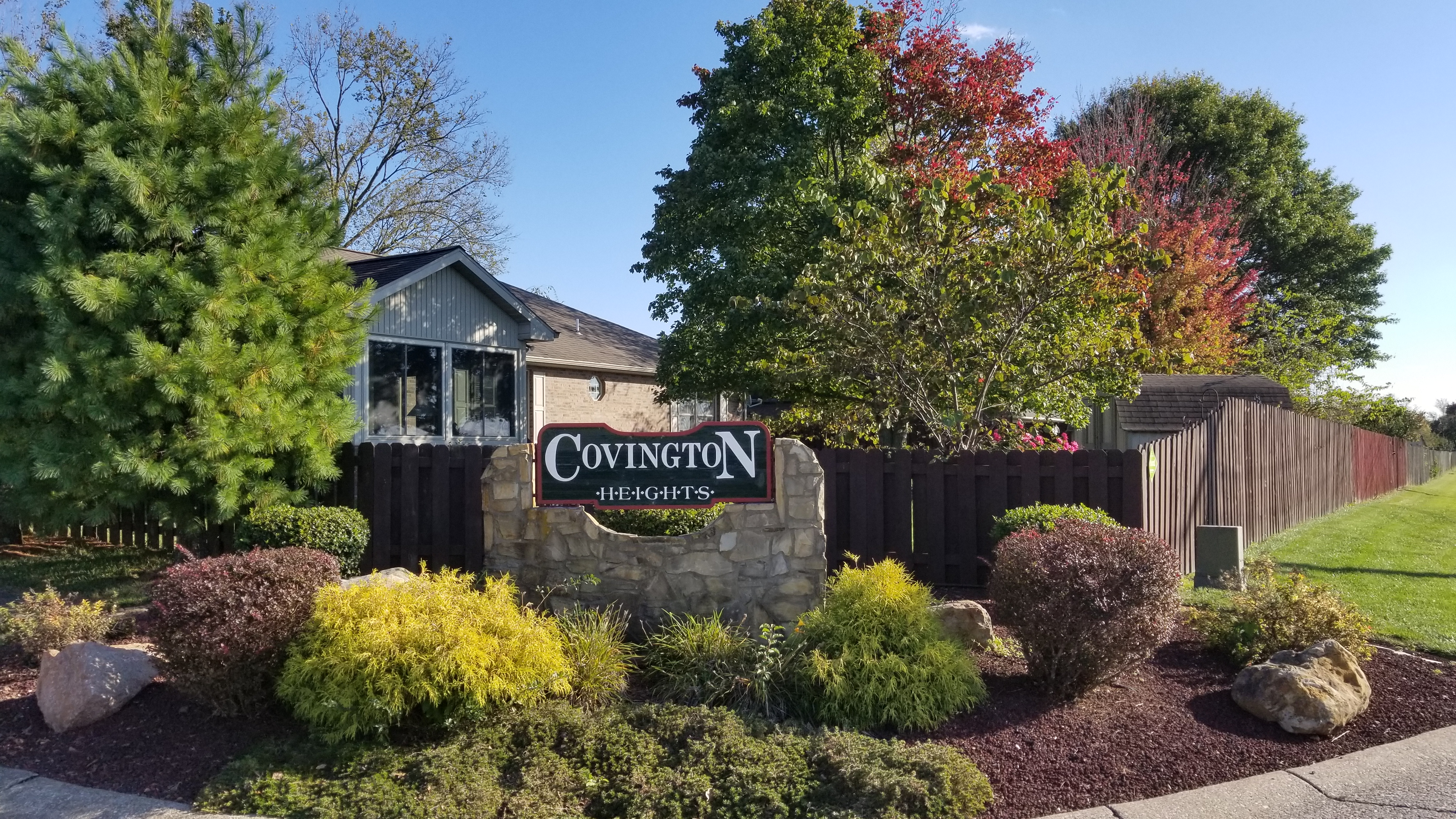 Evansville Homes for Sale Covington Heights subdivision homes